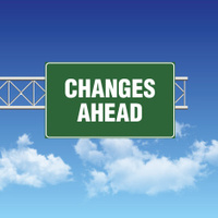 road-sign-showing-changes-ahead